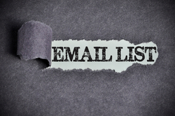 What parameters do you use to segment your email lists?