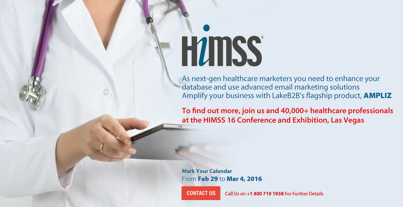 Meet us at HIMSS