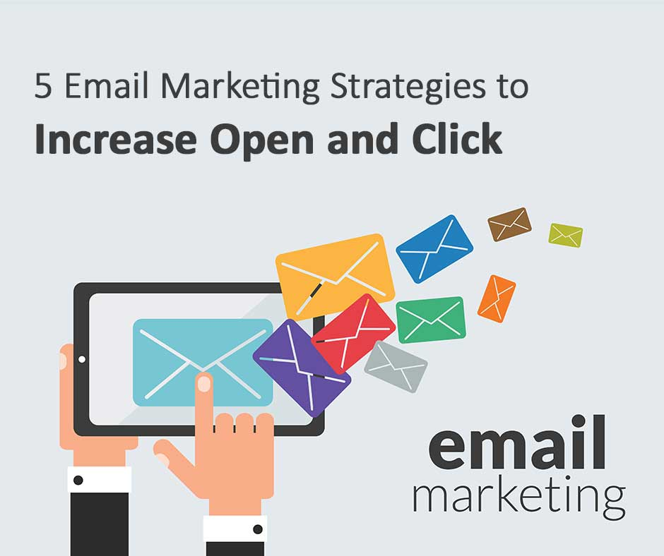 5 Email Marketing Strategies to Increase Open and Click-Through Rates