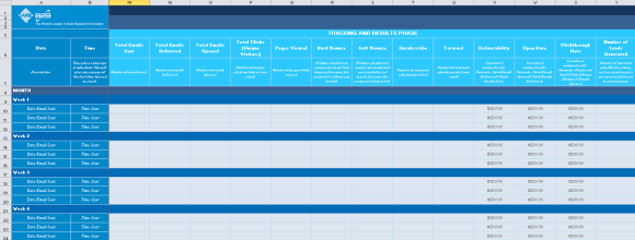 Email Marketing Campaign Planner_Tracking and Results Phase