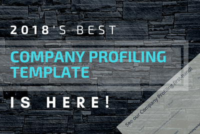 This is the One Template that Will Solve All Your Company Profiling Worries in 2018