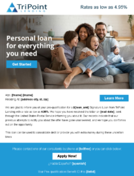 TriPoint Lending for personal loan