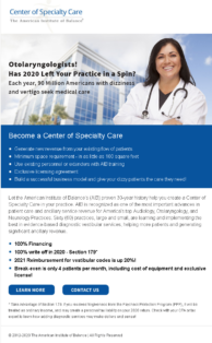 Center of Specialty Care