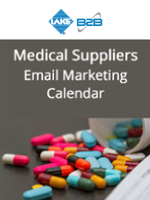 Medical Supplies Email Marketing Calender